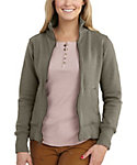Carhartt Women's Dunlow Mock Neck Full Zip Sweatshirt