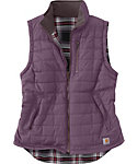 Carhartt Women's Amoret Reversible Quilted Flannel Vest