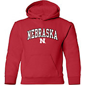 Old Varsity Brand Youth Nebraska Cornhuskers Red Layer Hoodie