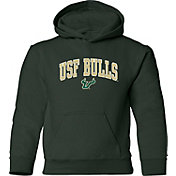 Old Varsity Brand Youth South Florida Bulls Green Layer Hoodie