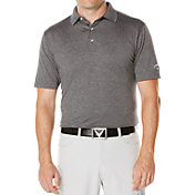 Callaway Men's Big & Tall Heathered Golf Polo