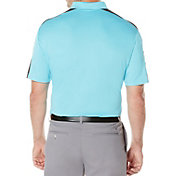 Callaway Men's Big & Tall Embossed Shoulder-Blocked Golf Polo