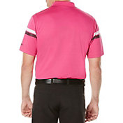 Callaway Men's Big & Tall Striped Golf Polo
