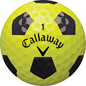 Callaway Chrome Soft X Truvis Yellow Golf Balls