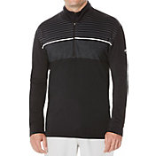 Callaway Men's Shadow Striped Quarter-Zip Golf Pullover – Big & Tall