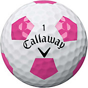 Callaway Chrome Soft Truvis White/Pink Golf Balls
