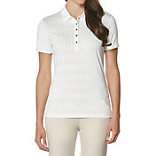 Callaway Women's Front Panel Print Golf Polo