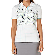Callaway Women's Performance Front Panel Print Golf Polo