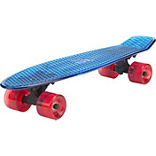 D6 Sports Youth 22'' Translucent Skateboard