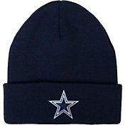 Dallas Cowboys Merchandising Men's Basic Cuff Navy Knit