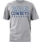 Dallas Cowboys Merchandising Men's Practice Grey T-Shirt