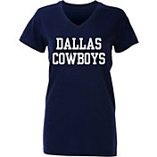 Dallas Cowboys Merchandising Women's Coaches 2 Navy T-Shirt