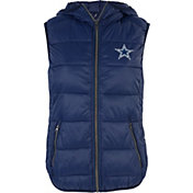 G-III for Her Women's Dallas Cowboys Free Agent Navy Vest