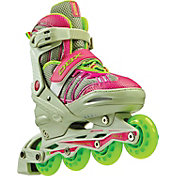 DBX Girls' Equinox Adjustable Inline Skate Package 2014