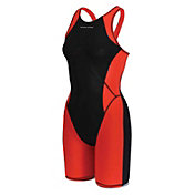 Dolfin Women's Platinum2 Color Block Neck To Knee Suit