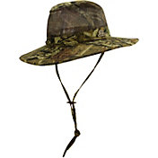 Dorfman Pacific Mossy Oak Men's Camo Mesh Crown Safari Hat