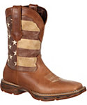 Durango Women's Lady Rebel Faded Union Flag Western Boots