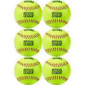 DICK'S Sporting Goods 12'' Practice Softballs – 6 Pack