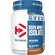 Dymatize ISO-100 Hydrolyzed Whey Protein Powder Chocolate 1.6 LBS