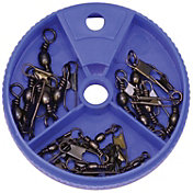 Eagle Claw Black Snap Swivel Assortment