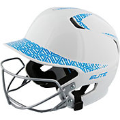 Easton Senior Z5 Two-Tone Fastpitch Batting Helmet w/ Facemask