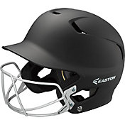 Easton Junior Z5 Grip Batting Helmet with Baseball Facemask