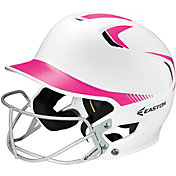 Easton Junior Z5 Two Tone Batting Helmet with Softball Facemask