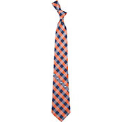 Eagles Wings Edmonton Oilers Check Necktie