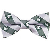 Eagles Wings Michigan State Spartans Checkered Bow Tie