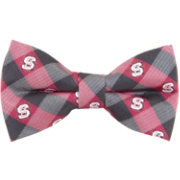 Eagles Wings NC State Wolfpack Checkered Bow Tie