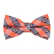 Eagles Wings Chicago Bears Checkered Bow Tie