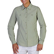 ExOfficio Women's Percorsa Button Up Long Sleeve Shirt