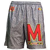 Fit 2 Win Men's Maryland Terrapins Grey Static Shorts