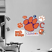 Fathead Clemson Tigers Team Logo Assortment Wall Graphic
