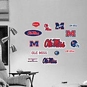 Fathead Ole Miss Rebels Team Logo Assortment Wall Graphic