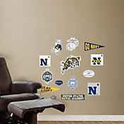 Fathead Navy Midshipmen Team Logo Assortment Wall Decals