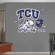 Fathead TCU Horned Frogs Logo Wall Decal