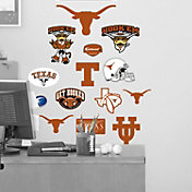 Fathead Texas Longhorns Team Logo Assortment Wall Graphic