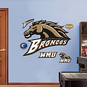 Fathead Western Michigan Broncos Logo Wall Decal