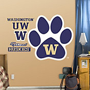 Fathead Washington Huskies Paw Logo Wall Decal