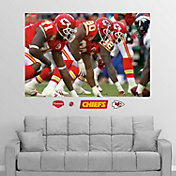 "Fathead Kansas City Chiefs Defensive Line ""In Your Face"" Wall Graphic"