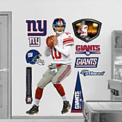 Fathead Eli Manning Away Uniform Wall Graphic