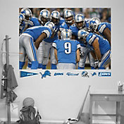 "Fathead Detroit Lions ""In Your Face"" Wall Graphic"