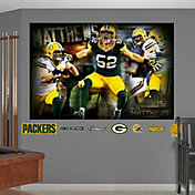 Fathead Clay Matthews #52 Green Bay Packers Real Big Game Mural