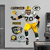 Fathead T.J. Lang Wall Graphic
