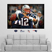 "Fathead Tom Brady ""In Your Face"" Wall Graphic"