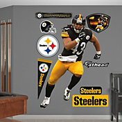 Fathead Troy Polamalu #43 Pittsburgh Steelers Real Big Wall Graphic
