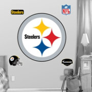 Fathead Pittsburgh Steelers Logo Wall Graphic