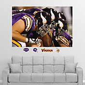 "Fathead Minnesota Vikings Offensive Line ""In Your Face"" Wall Graphic"