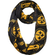 Forever Collectibles Pittsburgh Steelers 2016 Logo Infinity Scarf